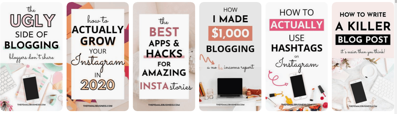 pinterest viral pin graphics ideas to help you increase your blog traffic