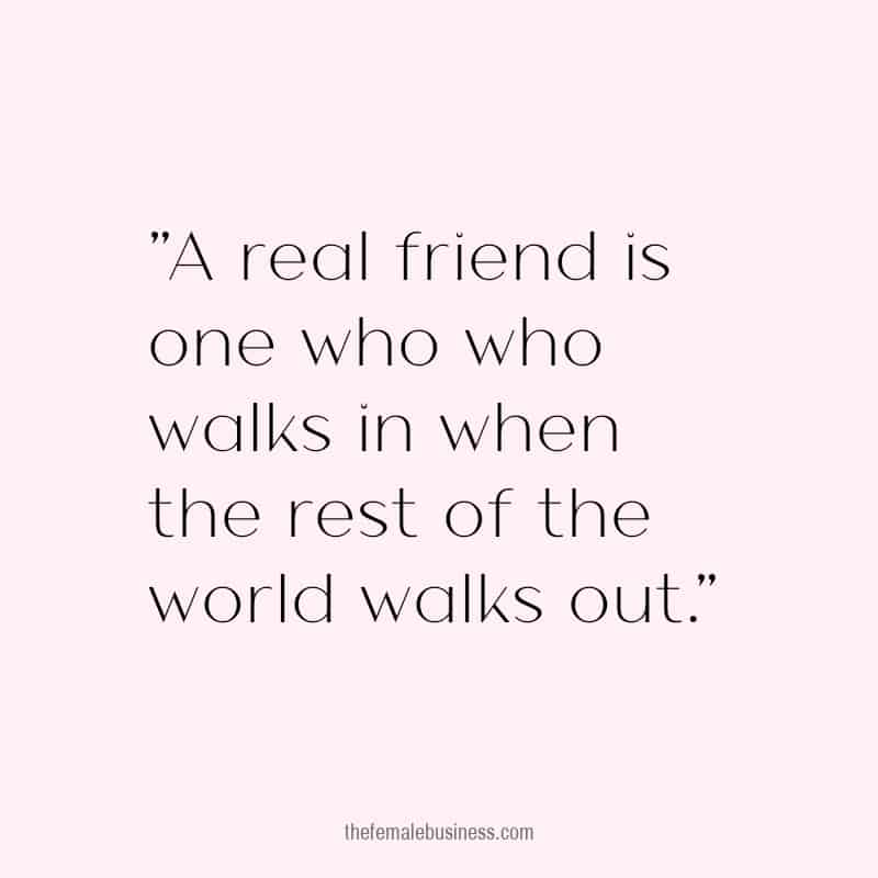 inspiring quote about friendship