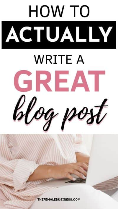 how to write blog posts