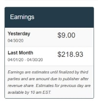 mediavine earnings income report